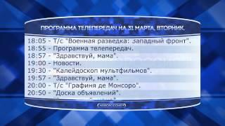 Телепрограмма на  31 03 2015г.