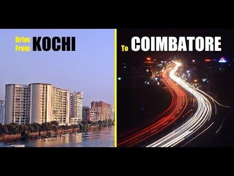 KOCHI to COIMBATORE   Drive from Kochi to Coimbatore