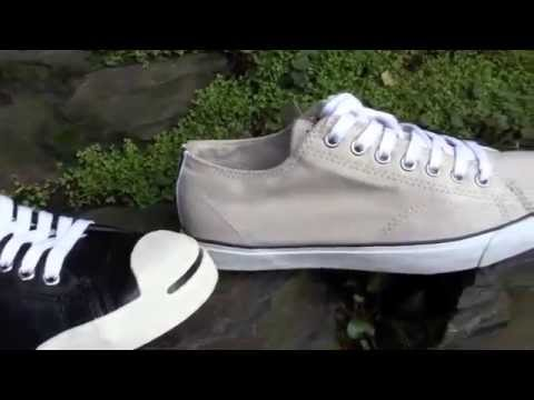 19c23a8a2ce8 Converse Jack Purcell แบบหนัง ปี 2012 - YouTube