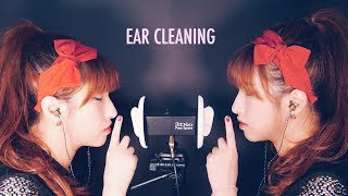 ASMR. Twin Ear Cleaning w/Metal Earpicks (No Talking)
