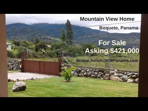 Mountain View Home for Sale: Boquete, Panama
