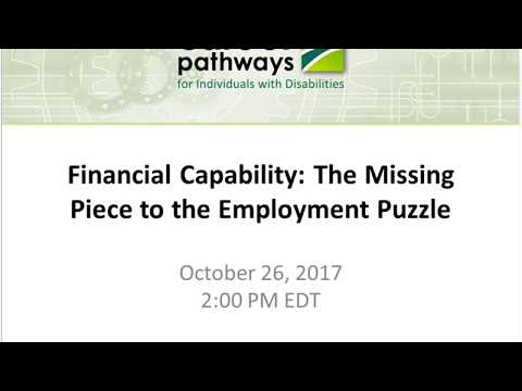 Financial Capability The Missing Piece to the Employment Puzzle 20171026 1725 1