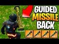 The Guided Missile Is BACK In Fortnite! Fortnite Guided Missile Return In Fortnite Battle Royale!