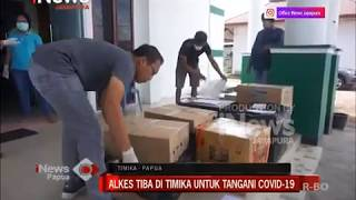 I NEWS PAPUA - ALKES TIBA DI TIMIKA UNTUK TANGANI COVID-19