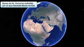 Hz Adem ve Hz Havva Dünyada Nereye İndirildi? İşte buraya Resimi