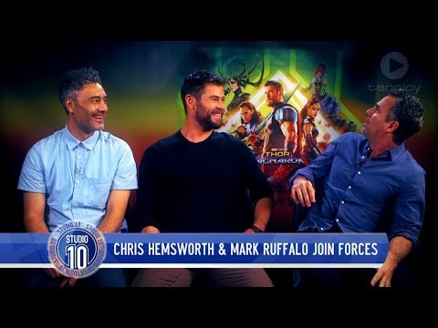 Chris Hemsworth, Mark Ruffalo & Taika Waititi Talk 'Thor: Ragnarok'  Studio 10