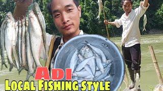 Local fishing style Adi tribe at Lokpeng Village| Northeast India| Arunachal Pradesh By Abhraham Goi