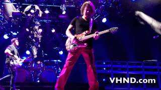 "Van Halen - New song ""Tattoo"" live at the LA Forum 2/8/12"