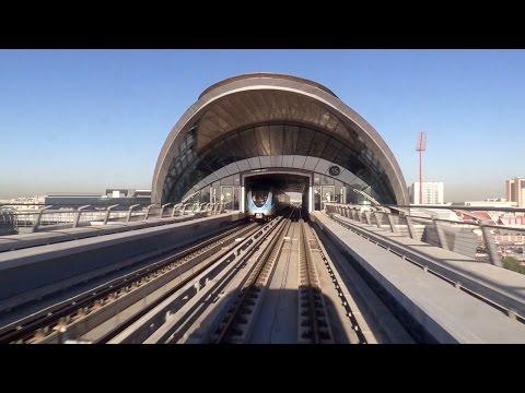 Dubai Metro Green Line Cab Ride Time-Lapse