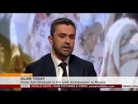 UAE Ambassador Omar Ghobash speaks to Yalda Hakim on Impact BBC World News