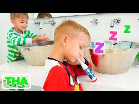 ประจำลาดและนิกิตาตอนเช้ากับมีแม่ง่วงนอน