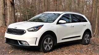 Kia Niro PHEV Plug In Electric Review Drivin