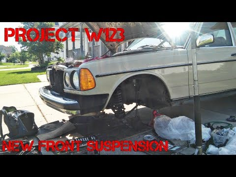 Project Mercedes W123 Part 5- Full Front Suspension Rebuild