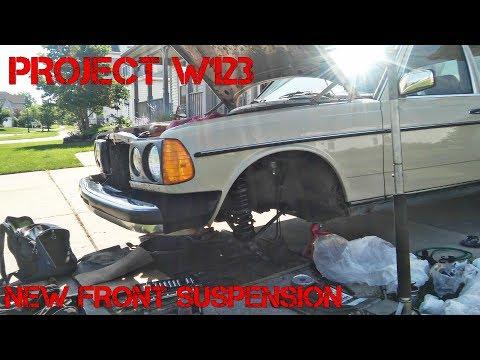 Project Mercedes W123 Part 5- Full Front Suspension Rebuild