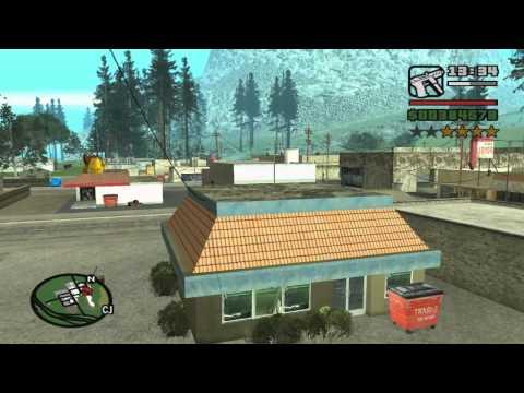 GTA San Andreas San Fierro and Badlands Unique Stunt Jumps