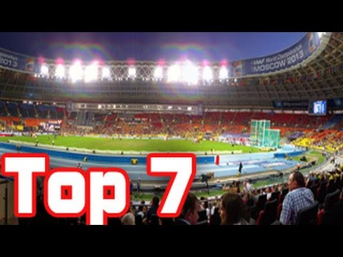 top 7 largest football stadiums in europe