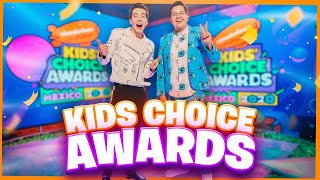 ¡NOS BAÑARON CON 100 LITROS DE SLIME! - KIDS CHOICE AWARDS 2020