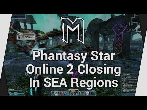 Phantasy Star Online 2 Closing In SEA Regions (Server Shutdown) - Topic