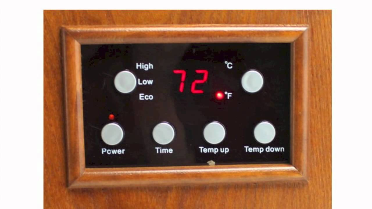 lifesmart 1500 watt infrared electric heater ls 4w1500 x youtube rh youtube com