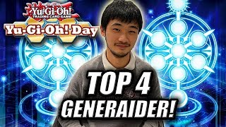 TOP 4 GENERAIDER DECK PROFILE 2019! FT. HANKO CHOW (Yu-Gi-Oh! Day)