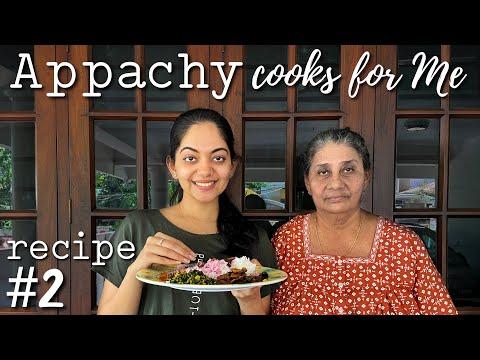 Appachy Cooks for Me   Recipe #2   Ahaana Krishna