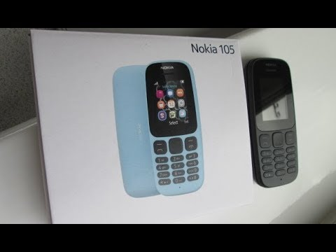 New Nokia 105 2017 Mobile Phone Cell Phone Review, Latest Nokia 2017, Games, Snake, Microsoft.