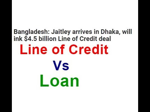 Line of Credit Vs Loan in Simple Terms