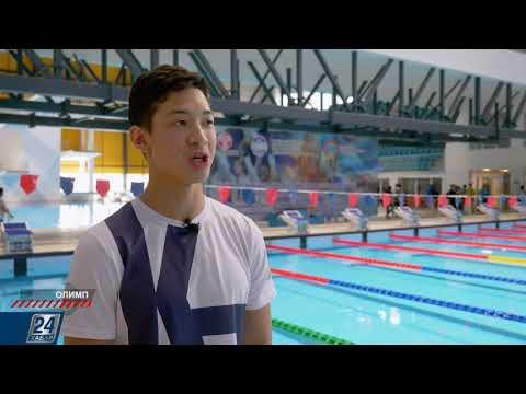 Тренировки казахстанских пловцов в США