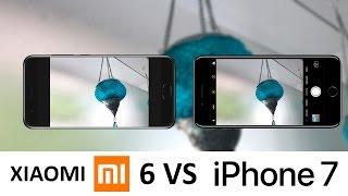 Xiaomi Mi6 Vs iPhone 7 Camera Test