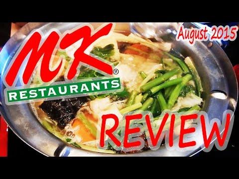 Review of Sukiyaki at MK Restaurant August 2015