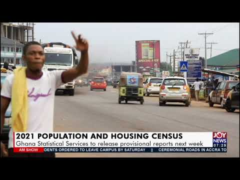 2021 Population And Housing Census: Ghana Statistical Service to release reports (16-9-21)