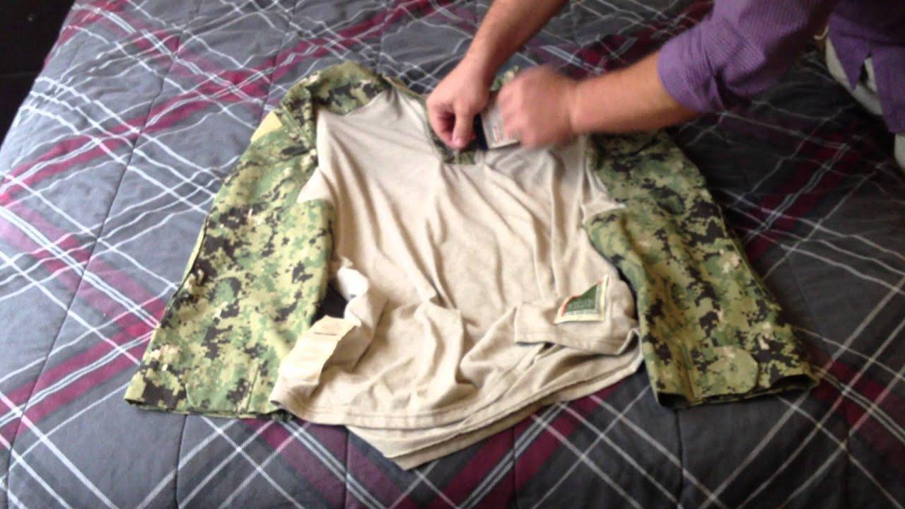 6b4f05f0 AOR2 / NWU Type III FROG combat shirt review - YouTube