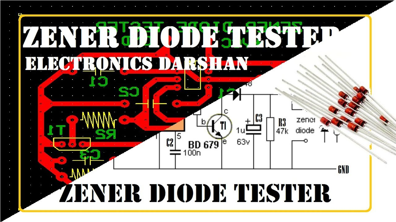 Pcb Layout Of Zener Diode Tester Project 40 Youtube Zenerdiodecircuits Circuits