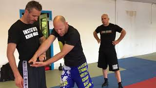 VIP protection, with gun. With Amnon Darsa at Expert Camp, Institute Krav Maga Netherlands.