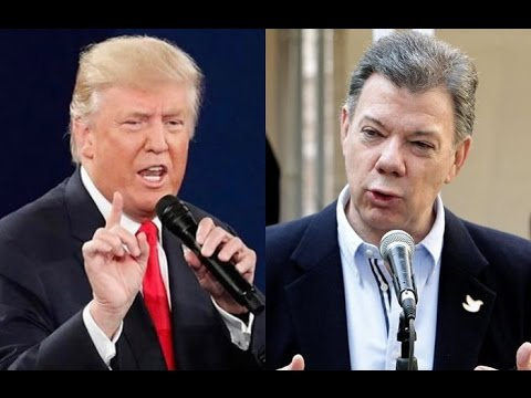 President Donald Trump Joint Press Conference with Juan Manuel Santos of Colombia 5/18/2017