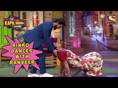 Rinku Dances With Ranveer Singh – The Kapil Sharma Show