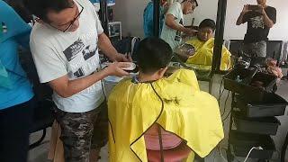 Potong rambut pixie