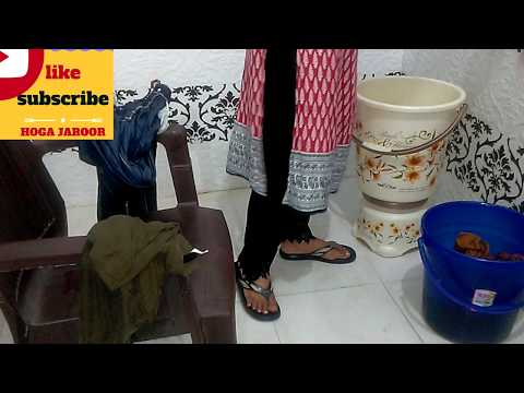 HOW TO WASH CLOTHES BY HANDS/WITHOUT WASHING MACHINE IN Rs.2 ONLY/EASY HEAVY CLOTH WASH/PG/HOSTEl