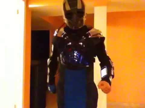 mortal kombat smoke costume youtube - Mortal Kombat Smoke Halloween Costume