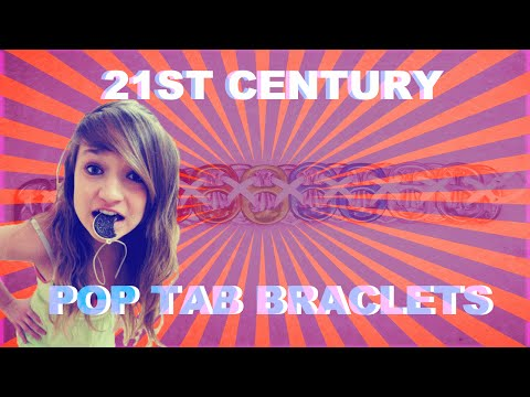 How to make a Bracelet from Pop Tabs - Upcycling Done Right!