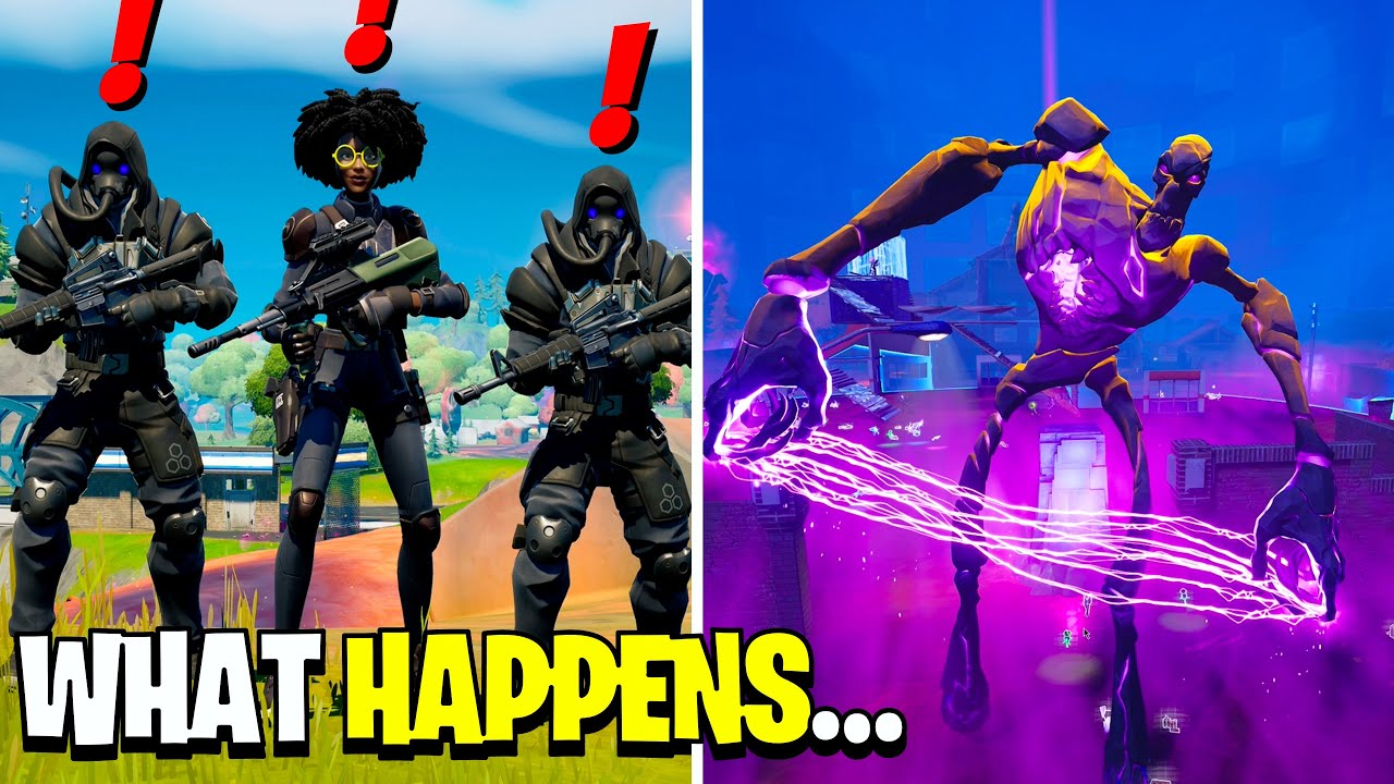 Download What Happens if Boss Caretaker Meets Dr Slone & IO in Fortnite!