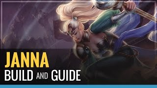 League of Legends - Janna Build and Guide