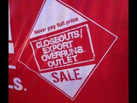 Closeouts Export Overruns Sale Surprise Giveaway!