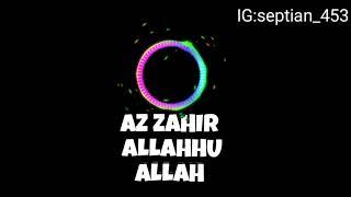 Download Video ALLAHHU ALLAH AZ-ZAHIR MP3 3GP MP4