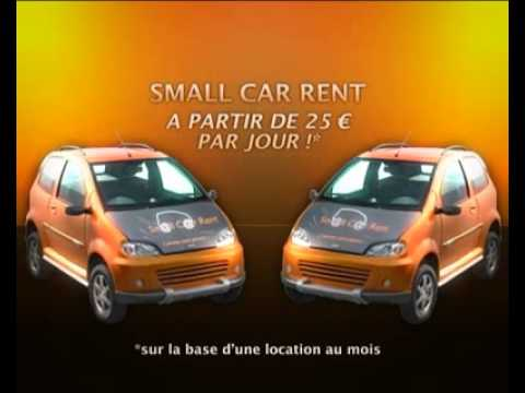 smallcar rent location de voiture sans permis montpellier et dans sa r gion youtube. Black Bedroom Furniture Sets. Home Design Ideas