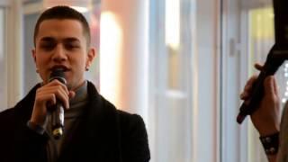 Idolvinnaren Liam  - Intervju & spontanrapp med Liam Cacatian Thomassen