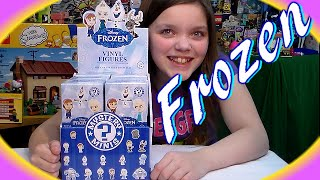 new disney frozen funko mystery minis blind box opening stopthatanimation