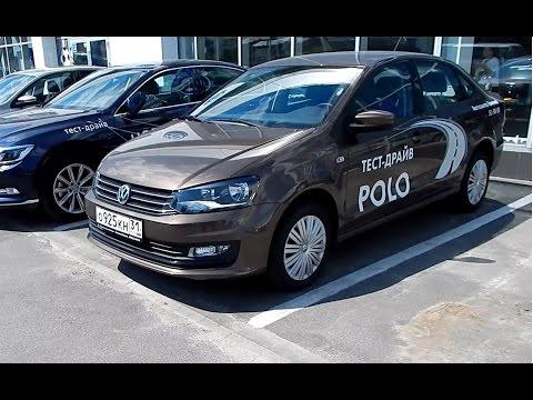 Volkswagen Polo седан 1.6/110 л.с. 6-АКПП Highline : Тест драйв