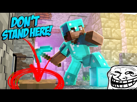 DON'T STEP ON THAT TRAP! (Minecraft Trolling Ep 147)