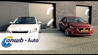 Peugeot 308 vs Mazda3 dubbeltest - ANWB Auto